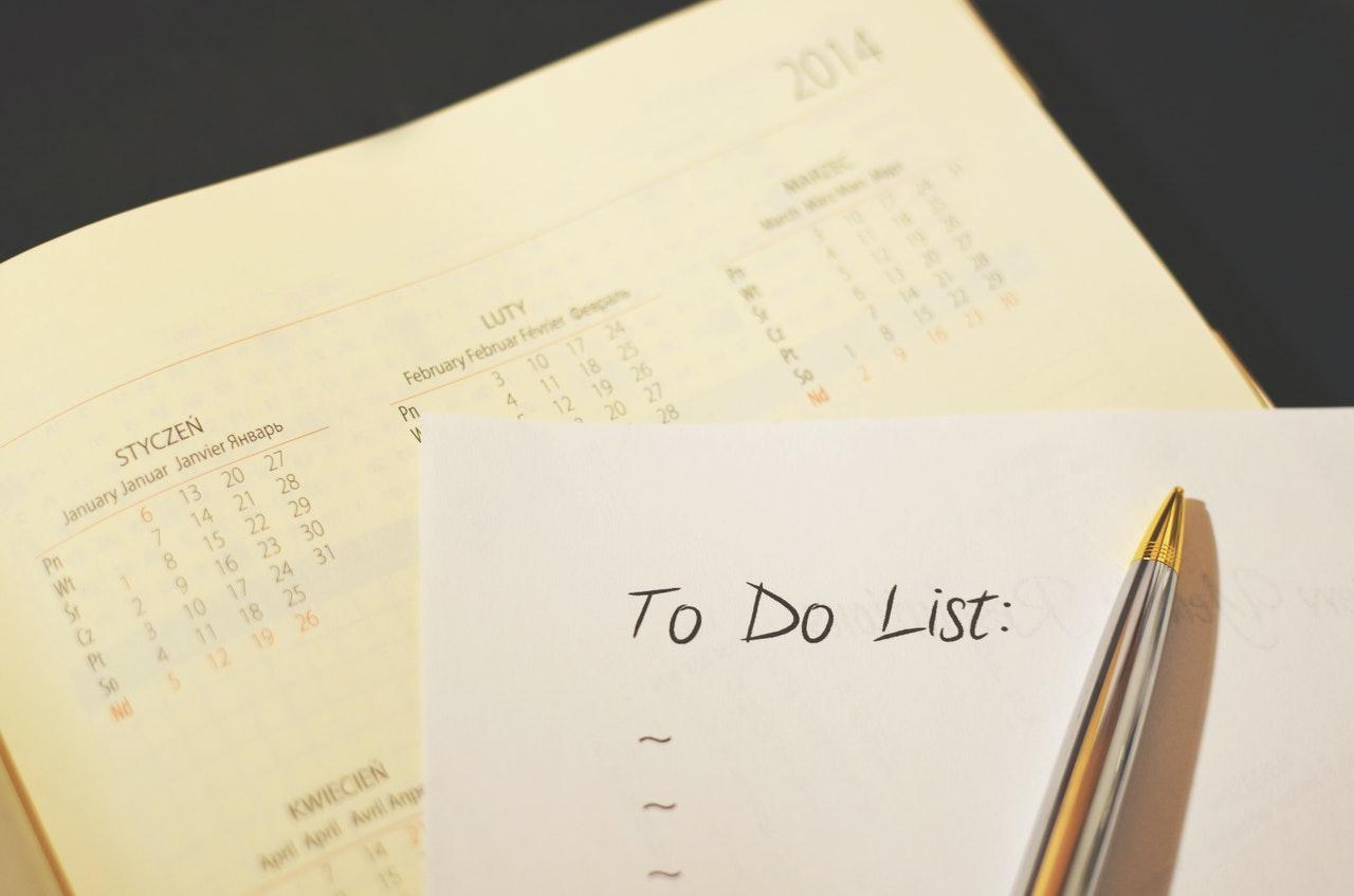 Merencanakan Jadwal | Sumber : pexels.com