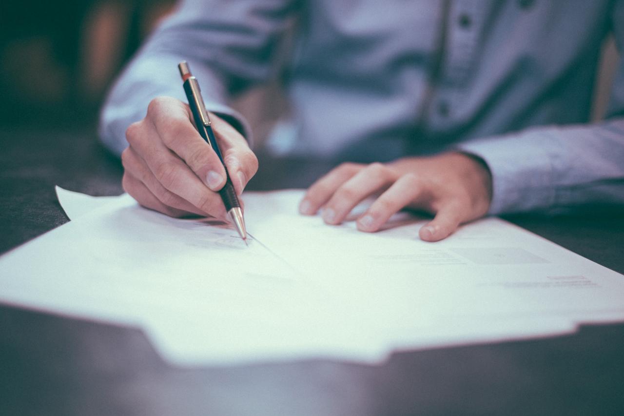 Contoh Surat Pengunduran Diri atau Surat Resign dari Jabatan Tertentu